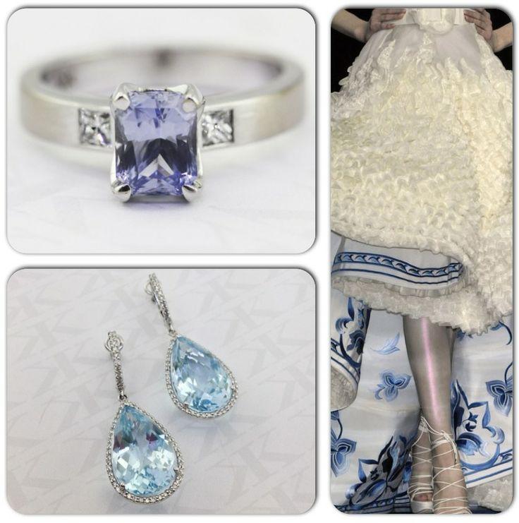 And maybe for something Blue... #bluesapphireengagementring #diamonds #diamondearrings #dress #love #detail #design #blue #lovely #picoftheday #happy #awesome #cbdjewellers #weddingband #custommade #gentsring #Melbourne #city #handmadejewellery #diamonds #rings #kalfinjewellery #kalfinstyle #diamondjewellery  #picoftheday #couture #jewellery #luxury