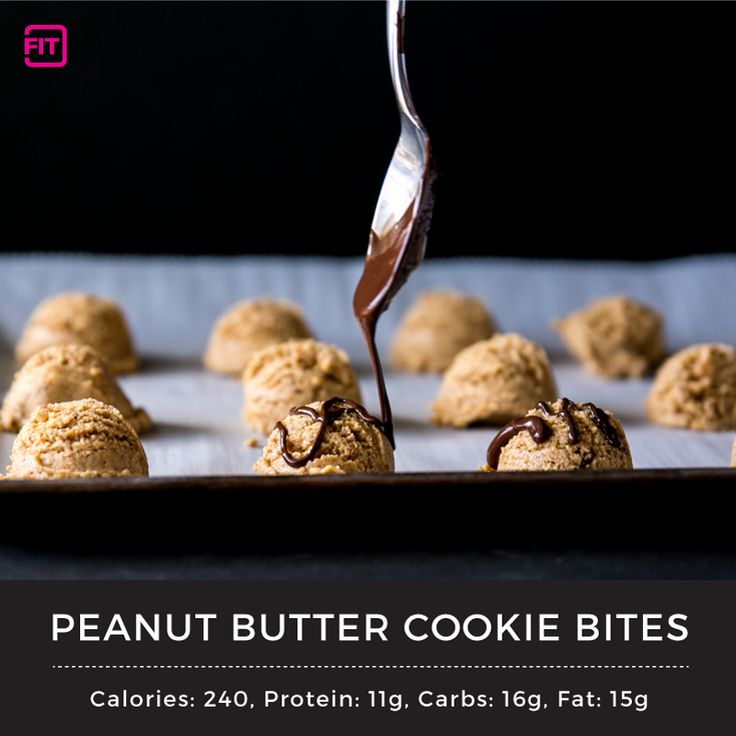 Peanut Butter Cookie Bites - Nutrition and Fitness Articles From Our Experts | IdealFit