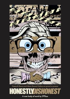 Graphic, D Face Art, Honestlydishonest, Comic Book, Art Urbain