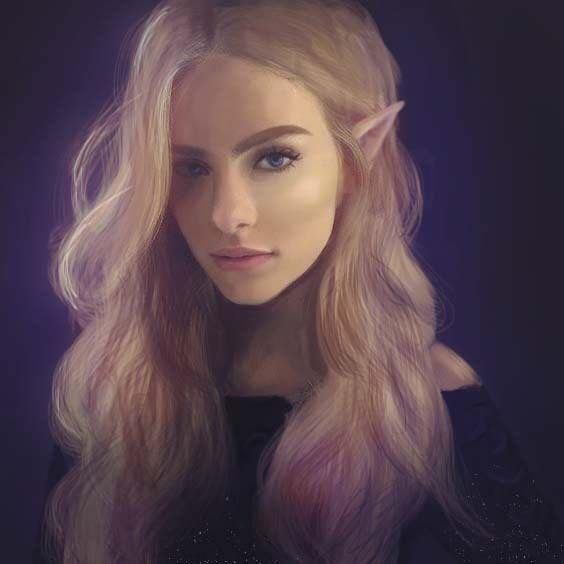 Feyre Archeron BUT THERE HAS TO BE BROWN GOLD HAIR FOOL