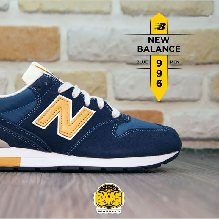 #newbalance #bluemen #996 #sneakerbaas #baasbovenbaas  New Balance 996 Blue Men - Available online, priced at € 119,99  For more info about your order please send an e-mail to webshop #sneakerbaas.com!