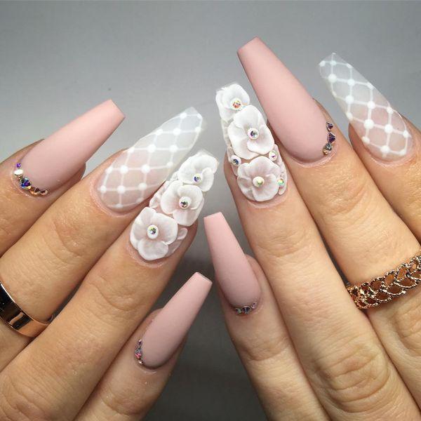 33 Exklusive 3D-Nageldesigns, die immer im Trend liegen – Nägel selber machen