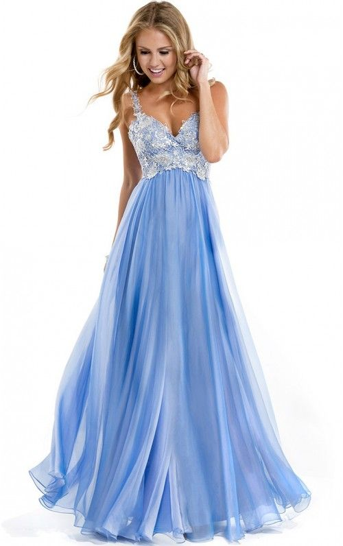 Spaghetti Straps A-line Gorgeous Floor-length Dresses