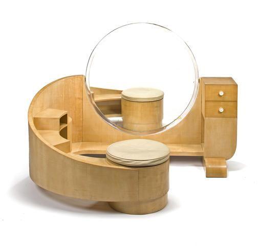 A Saddier Et Fils Sycamore Dressing Table Circa 1928 Art Deco FurnitureVintage
