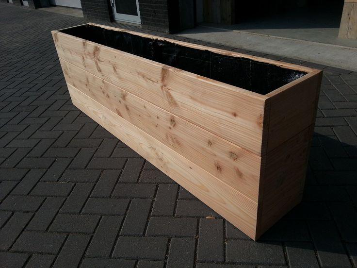 17 beste idee n over houten pallet planters op pinterest palleten pallet ideas en buiten - Terras hout ...