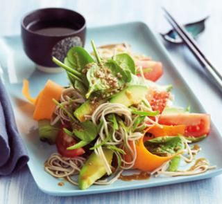 Japanese soba noodle and sesame salad | Australian Healthy Food Guide