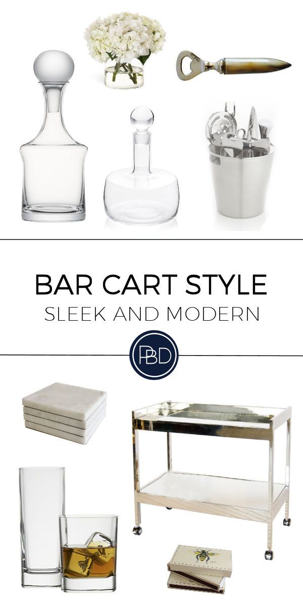 25 best ideas about Modern bar carts on Pinterest Modern bar