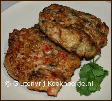 Vegetarische knolselderijburgers | Het Glutenvrij Kookhoekje