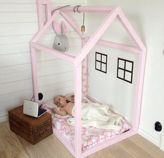 Cutest indoor kids cubby nook house