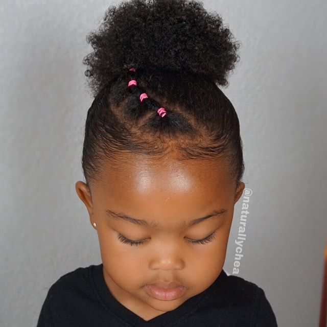 Back To School Style Naturalhairloving Naturallychea Follow Natur Natural Hair Styles Little Girls Natural Hairstyles Natural Hairstyles For Kids