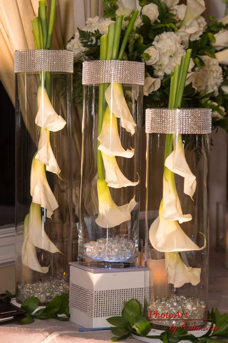 Stylish Wedding Centerpiece | Events by Dream Makers - Florida | #floral  #decor #