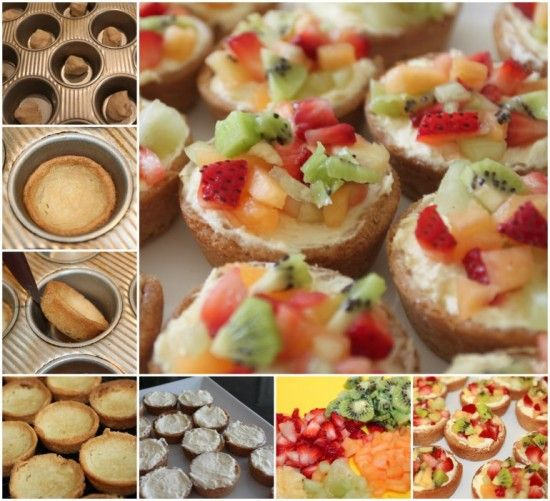 Cookie Cheesecake Fruit Cups