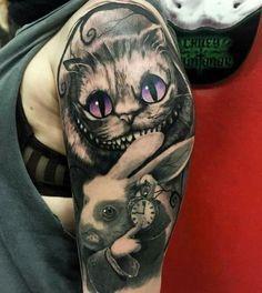 Love this Alice in Wonderland tattoo!: