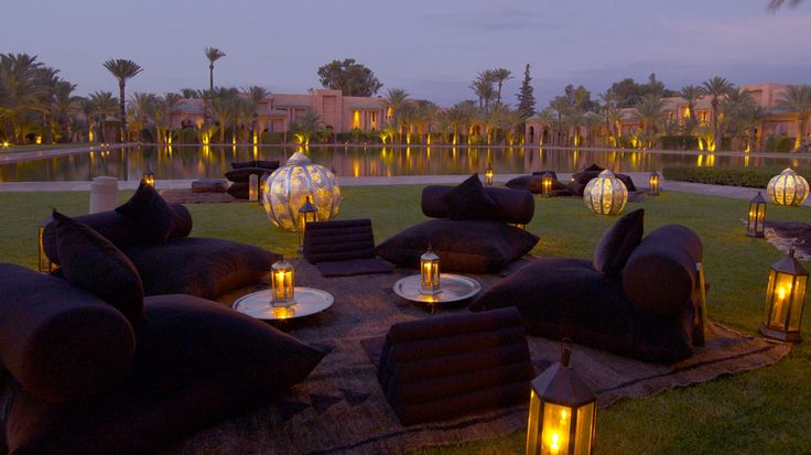Amanjena Resort - Marrakech, Morocco - Vacation For Your Brain,