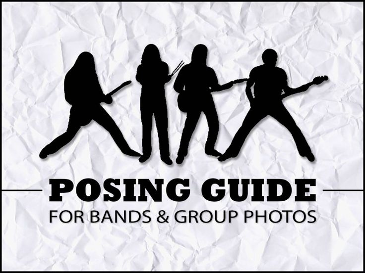 Awesome tips and techniques for posing bands, families, and groups of people.