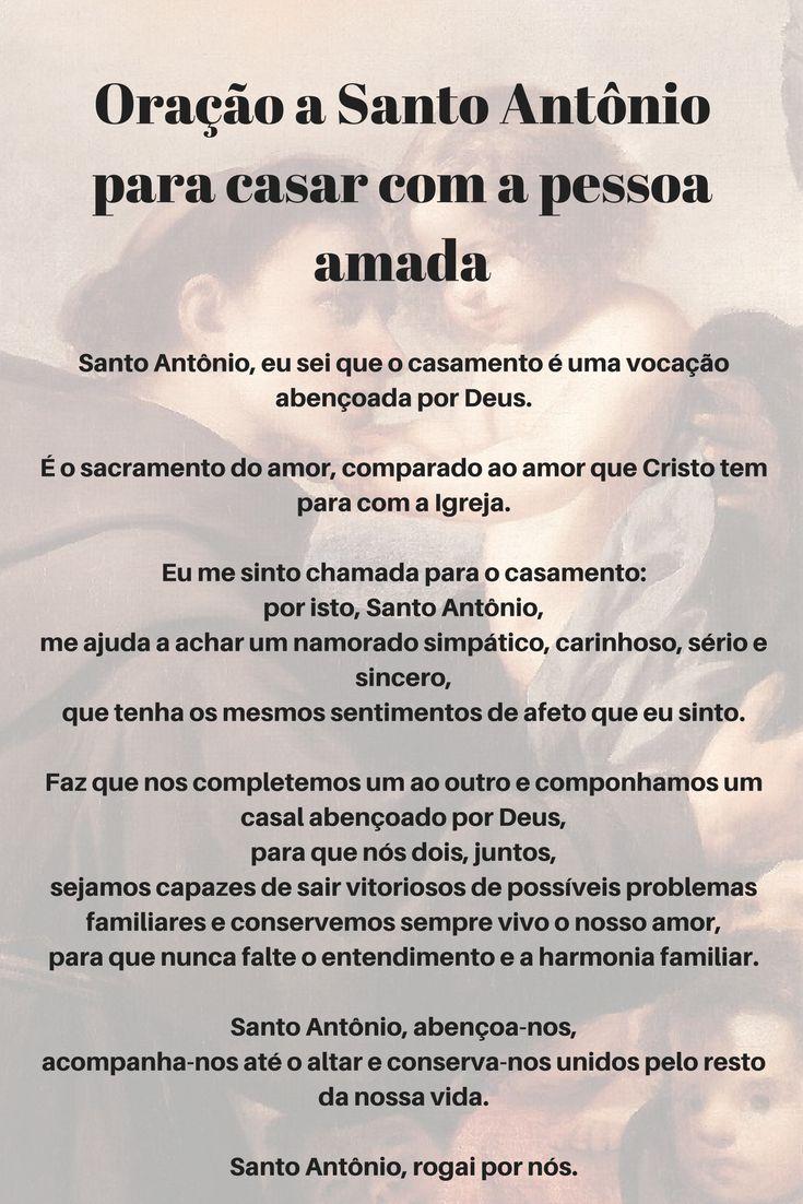 Oração a Santo Antônio para casar com a pessoa amada