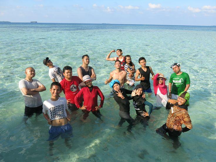 Pulau Gosong saat Pasang