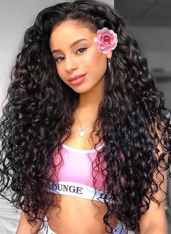 35 Best Inspirational Long Curly Hairstyles To Create In