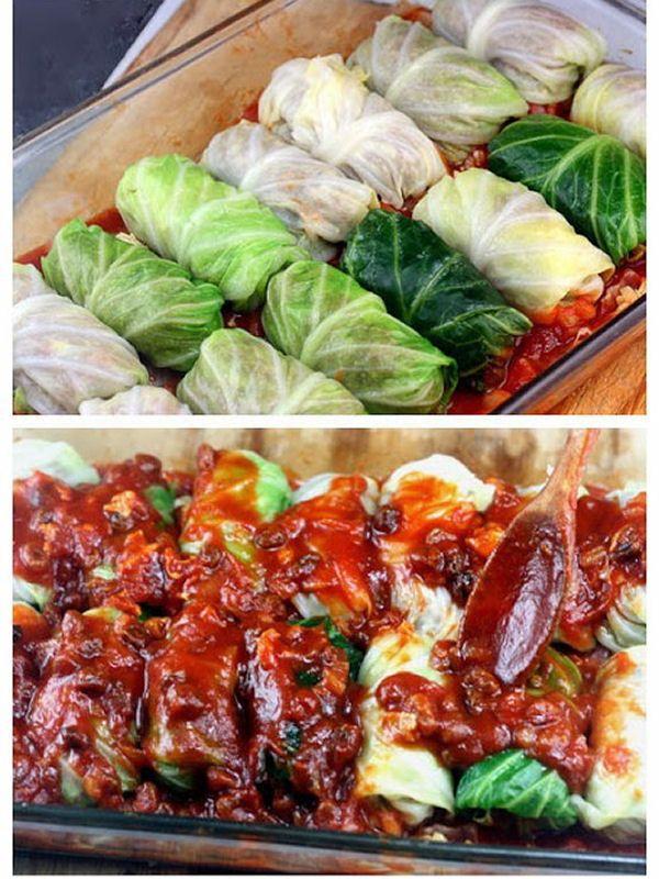 Amazing Stuffed Cabbage Rolls - My Honeys Place
