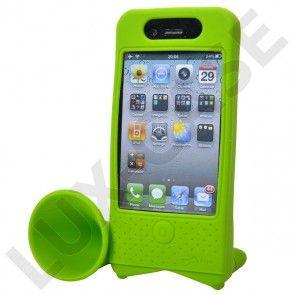 iPhone 4 Cykel Horn - Cykelholder til iPhone 4 (Grøn)