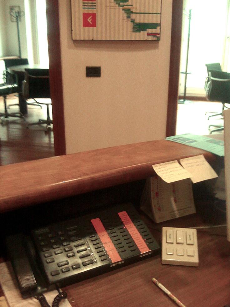Per i nostri sneak-peek del venerdì un altro luogo fondamentale nella casa(editrice)-madre: il centralino!