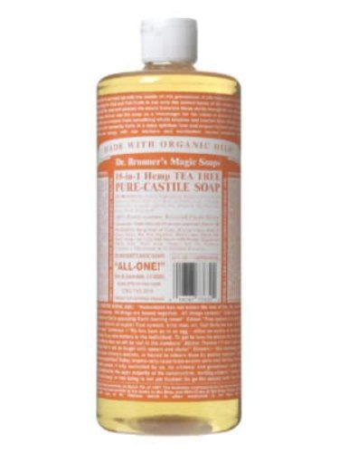 Dr. Bronner's Magic Soaps Pure-Castile Soap to make cookie sheets like brand new.