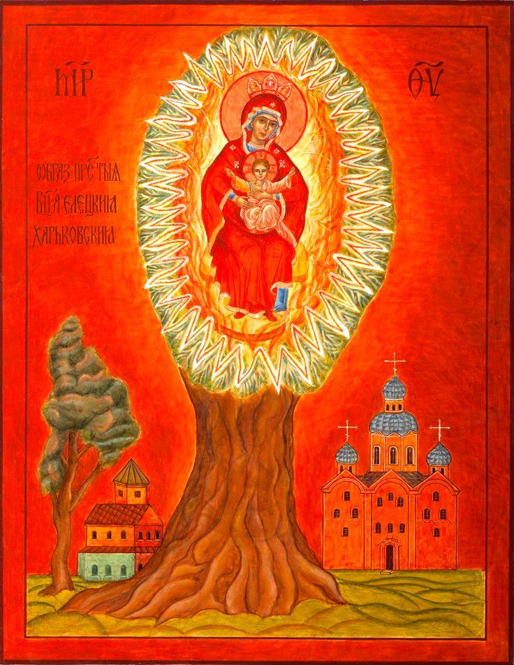 Икона Божией Матери Елецкая-Черниговская
