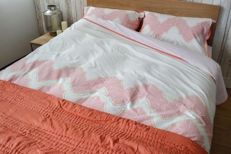 Jay Street Block Print Company   Ashland   Natural Bed