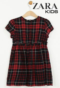 Rochie Zara Whis Dark Red din colectia pentru fetite Zara Kids