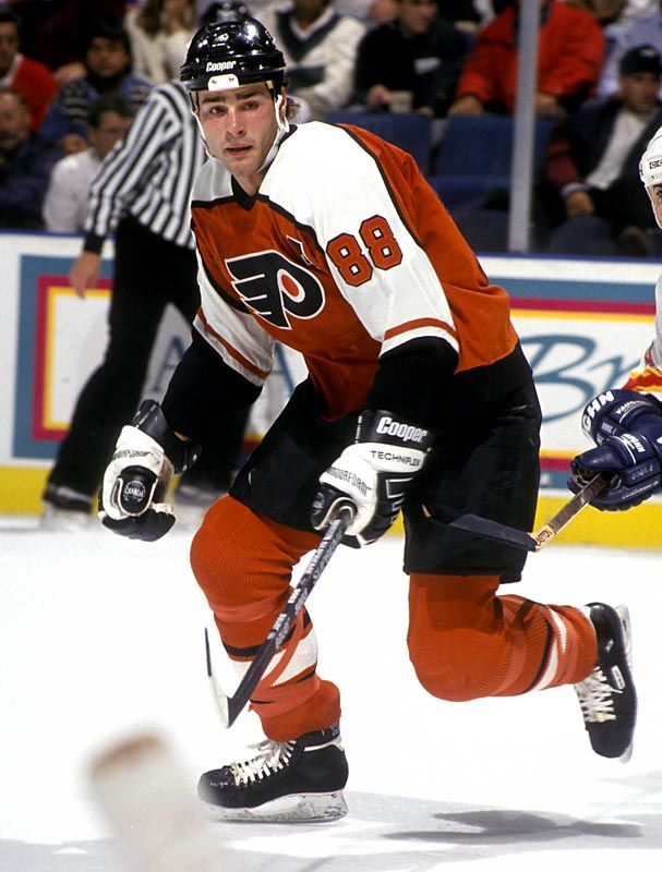 Eric Lindros...best player to ever wear a Flyers jersey.