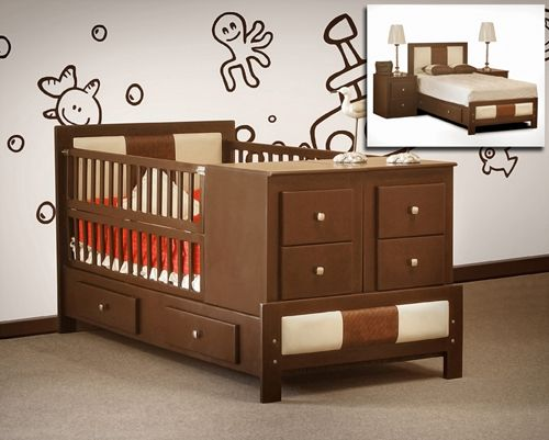 25 best ideas about cama cunas para bebes on pinterest - Cuna que se convierte en cama ...