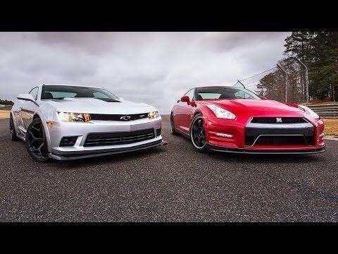 ▶ 2014 Chevrolet Camaro Z/28 vs. 2014 Nissan GT-R Track Edition! - Head 2 Head Ep. 52 - YouTube
