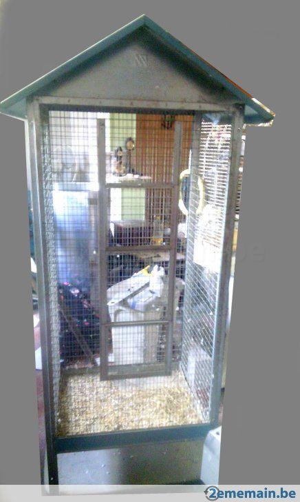 Grande cage oiseaux - A vendre à Dour