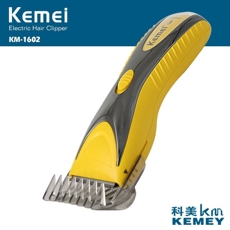 steel blade mens trimmer rechargeable  electric hair clipper hair trimmer  Kemei KM-1602