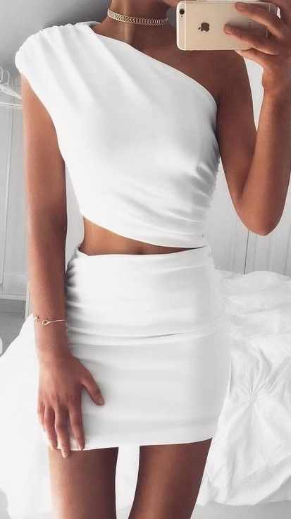 White Cassidy Dress                                                                             Source