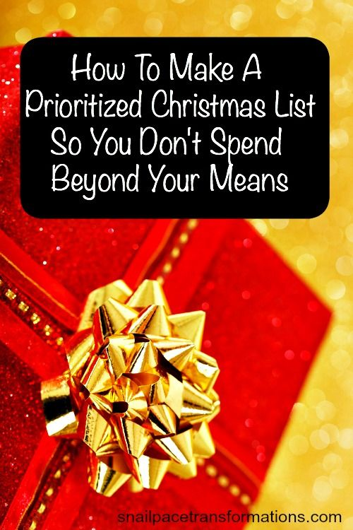how to make a list spend money everyday