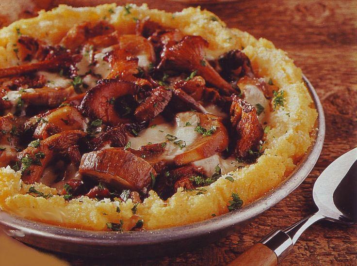 Полента-пицца