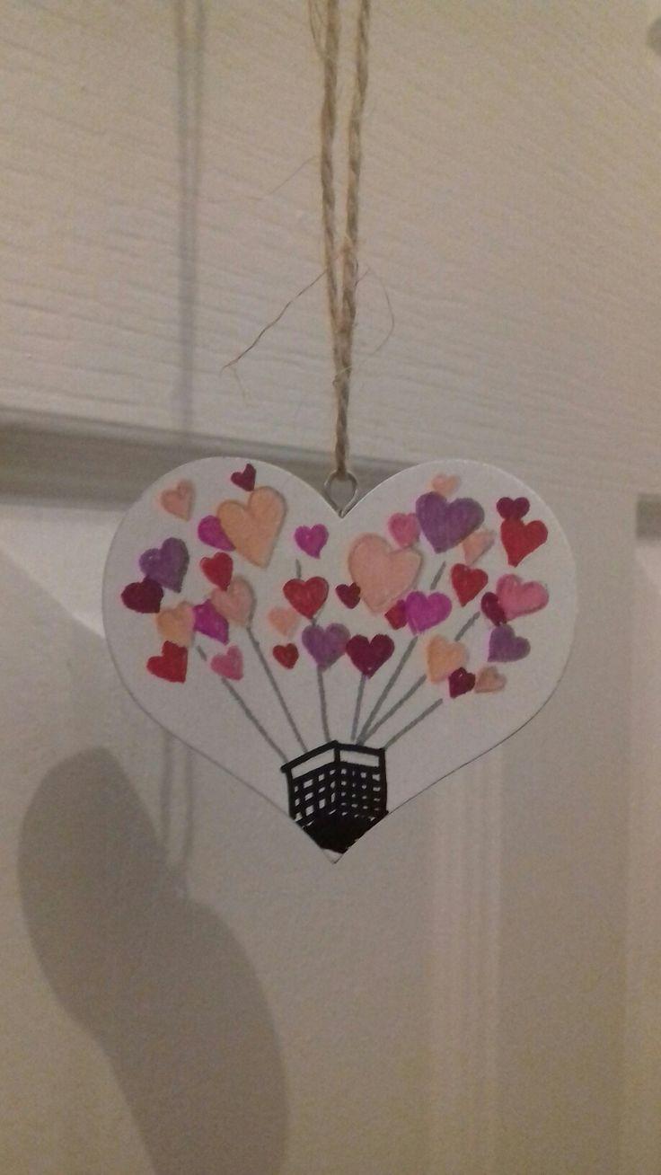 Hot Air balloon heart