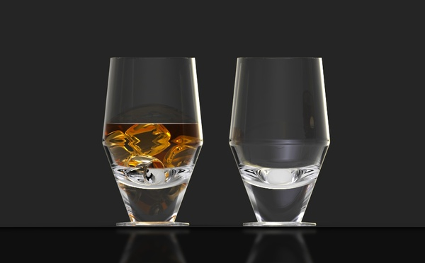 One more with ice! - Skittla glass by David NEVARIL on the Behance Network