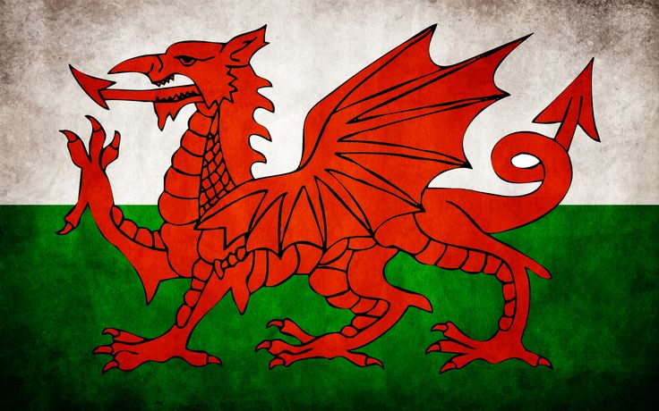 Welsh Flag, wallpaper,1920 x 1200