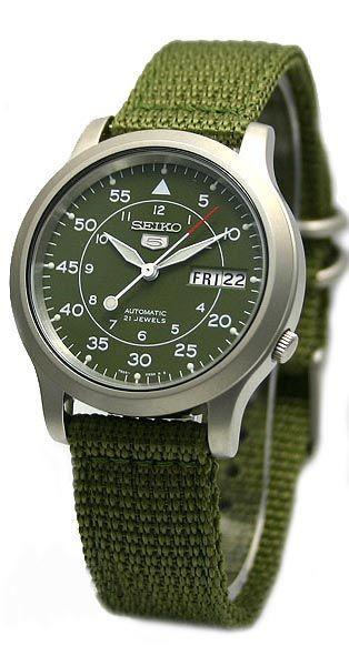 Seiko 5 (Seiko Five) Men  s Military Automatic Watch   SNK805 SNK805K2    SNK805K2  f0e045967c