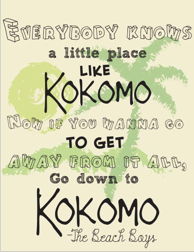 Kokomo.The beach boys