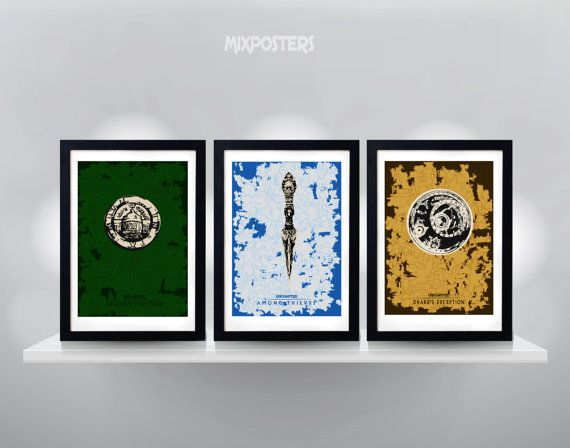 Hey, I found this really awesome Etsy listing at https://www.etsy.com/listing/160074448/uncharted-triple-pack-poster-minimalist