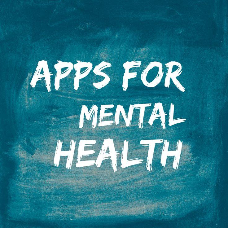 Apps for Mental Health — SARAH RUMPF, MA, LPC