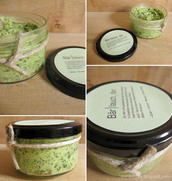 Die Raumfee: Bärlauchbutter // Wild Garlic Butter
