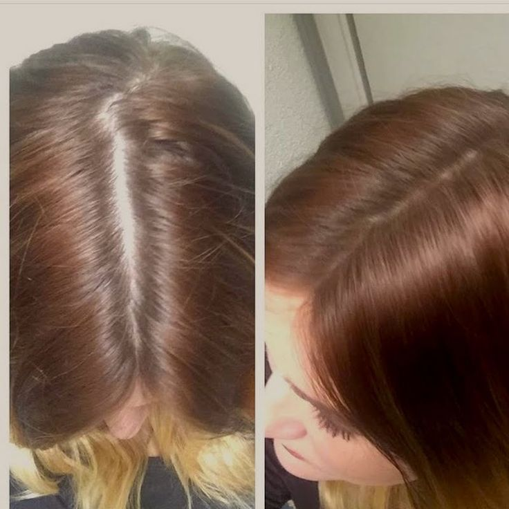 Melissa E covers her regrowth with ease using her gifted John Frieda Root Blur in Chestnut to Espresso Brunettes (available exclusively at ULTA.com). See this #jfrethinkcolour tutorial for a fuss-free touch up.