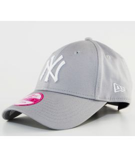 Casquette Femme New Era NY Yankees Gris 9Forty