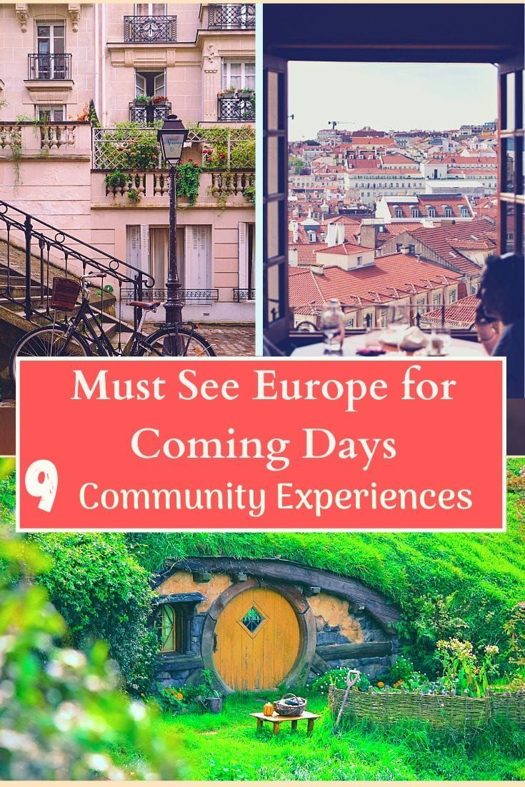 9 Community Tourism Initiatives In Europe Are Opening A New Normal In Sustainable Practice In 2020 Sustainable Travel Europe Travel Tourism