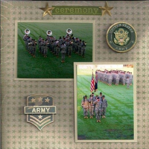 17 Best Army Scrapbook Images On Pinterest Scrapbook Layouts
