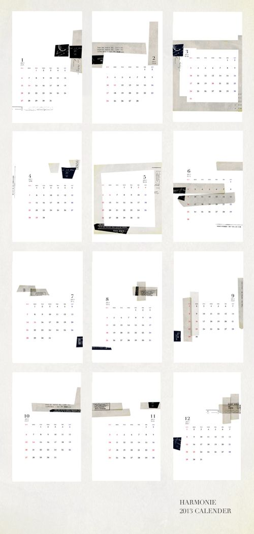 Pocket Calendar Design : Best ideas about calendar design on pinterest